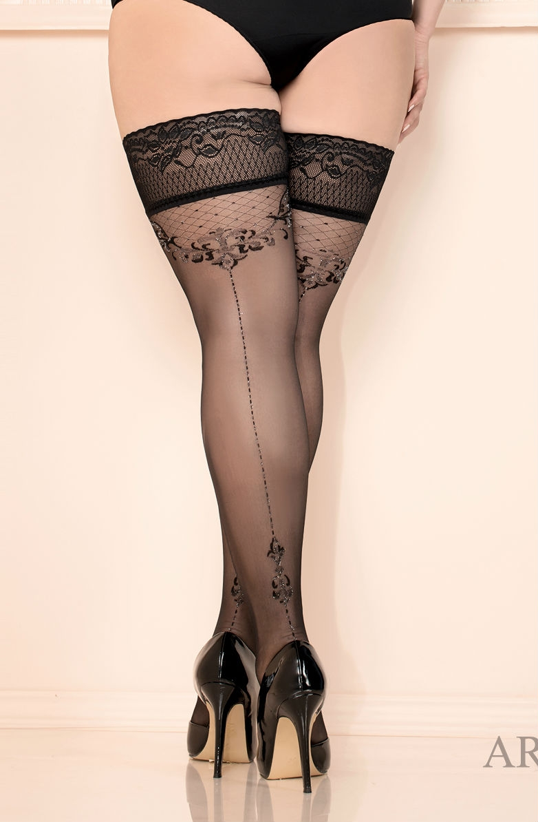 BALLERINA 438 Black Hold Ups XL